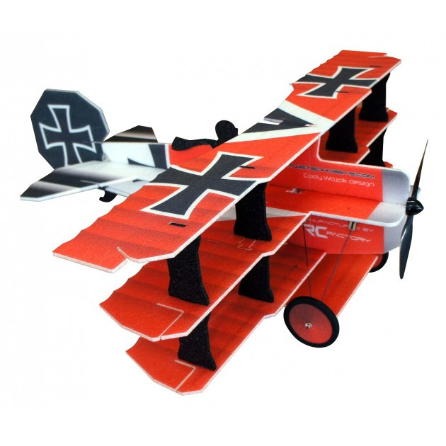 Crack Fokker DR1 Red Baron 890mm